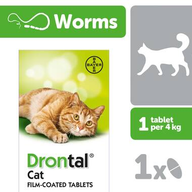 Drontal Cat Wormer ...
