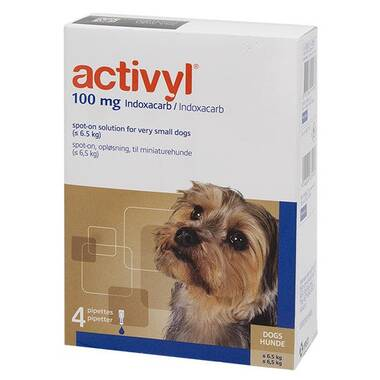 Activyl Spot On Toy Dog (1.2- 5kg)
