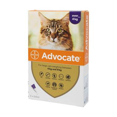Advocate for Cats Spot On 80 (For Large Cats over 4kg)