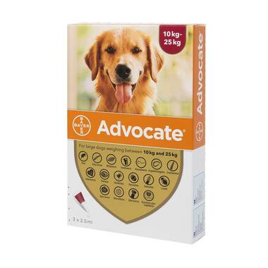 Advocate Spot On for Dogs 250 (10-25kg)