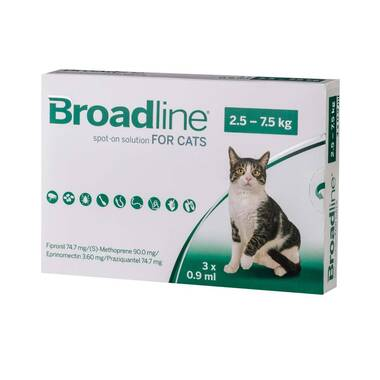 Broadline For Cats (larger Than 2.5kg)