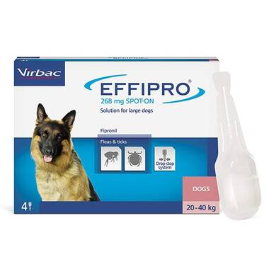 Effipro Spot On Large Dog 20-40kg