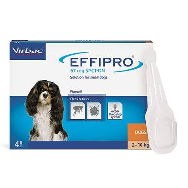 Effipro Spot On Small Dog 2-10kg