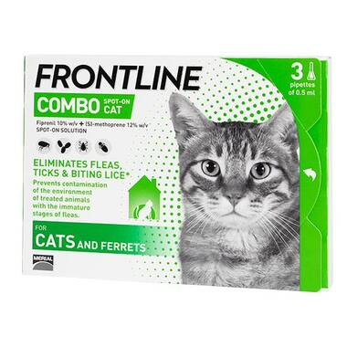 Frontline Combo Spot On Cat Flea Treatment