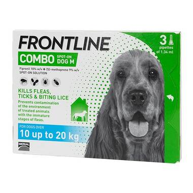 Frontline Spot On Combo Medium Dog (10-20kg)