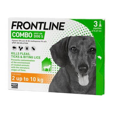 Frontline Spot On Combo Small Dog (2-10kg)