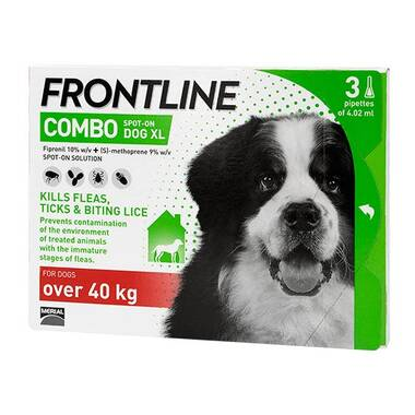 Frontline Spot On Combo X-Large Dog (40kg+)