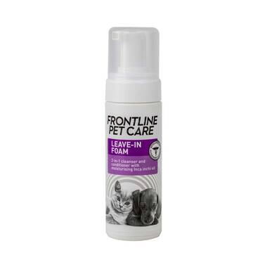 Frontline Pet Care Leave-in Cleansing & Conditioning Foam For Cats & Dogs
