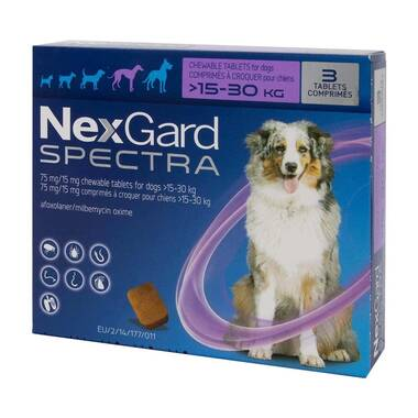 NexGard Spectra Flea And Worm Treatment For Large Dogs (15 - 30kg)